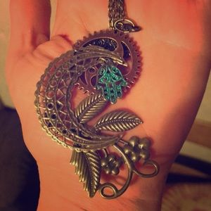 Jewelry - Steampunk &  bohemian inspired necklace by CRG